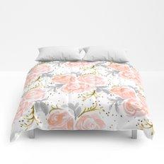 Sparkling Rosé flora Comforters