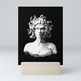Silver Medusa Mini Art Print