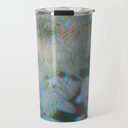 Analogue Glitch Radioactive Bouquet Travel Mug