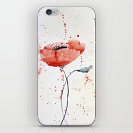 Poppy no 1 iPhone Skin