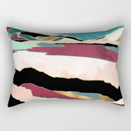 Teal Sky Rectangular Pillow