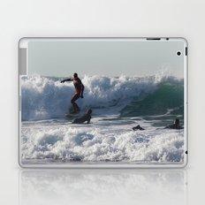 Winter Surfing Laptop & iPad Skin