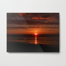 sunset at maidens Metal Print