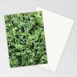 Healthy shredded kale Stationery Cards