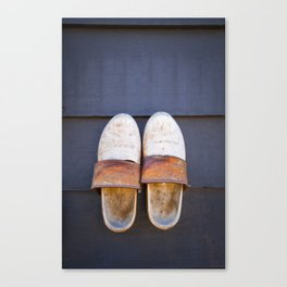 Typical dutch clogs Canvas Print