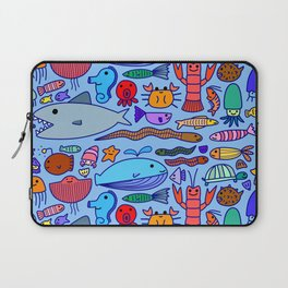 Colours Under the Sea Laptop Sleeve