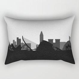 City Skylines: Valencia Rectangular Pillow