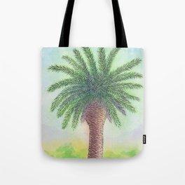 Palm tree on Zante Tote Bag
