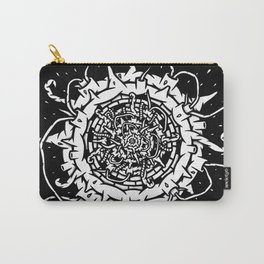 Abstract Planet Explosion Carry-All Pouch
