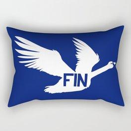 National Bird of Finland Rectangular Pillow