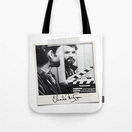 Manson Charles Signature Movie Tote Bag