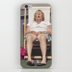 catching flies... iPhone & iPod Skin