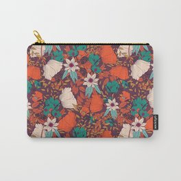 Botanical pattern 010 Carry-All Pouch