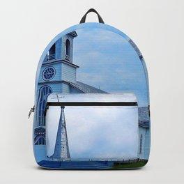 Church and Sea Backpack