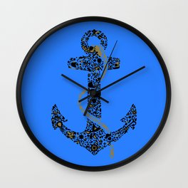 Anchor logo Wall Clock