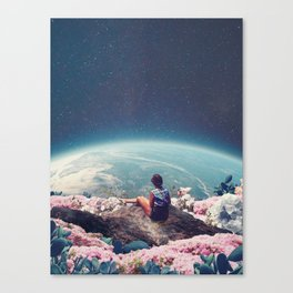 My World Blossomed when I Loved You Canvas Print