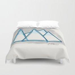 Bluey Peaks Duvet Cover