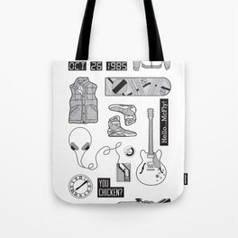 McFly Icons - Back to the Future Tote Bag