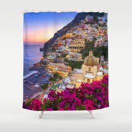 Positano Amalfi Coast Shower Curtain