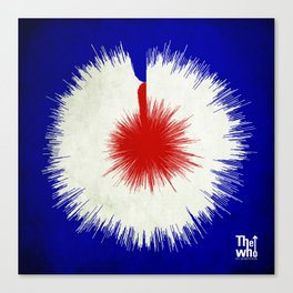 The Who, My Generation - Soundwave Art Canvas Print