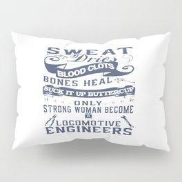 Locomotive Engineer Woman Pillow Sham