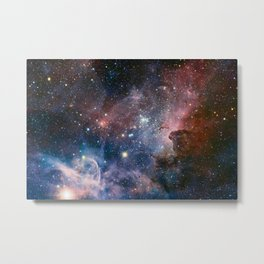 The Carina Nebula Metal Print