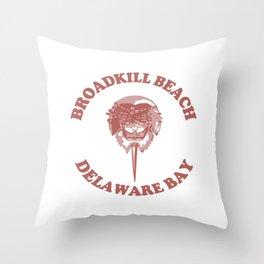 Broadkill Beach - Delaware. Throw Pillow
