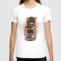 nutella T-shirts featuring Kitten Loves Nutella by Tim Shumate