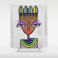 indie Shower Curtains featuring Indie by Andrea Silvestri