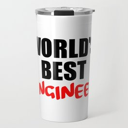 worlds best engineer Travel Mug