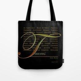 Sign Language for Taurus Tote Bag