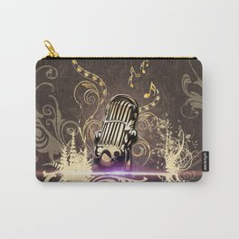 Music, microphone Carry-All Pouch