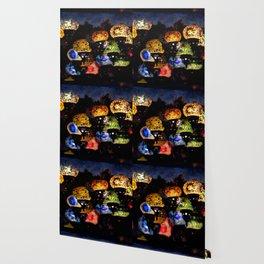 lanterns - night lights Wallpaper