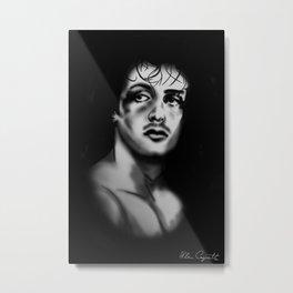 Rocky B Metal Print