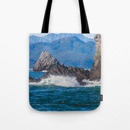 Pacific ocean bay Tote Bag