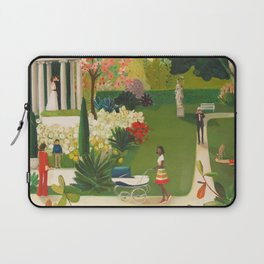 A Fainting In The Botanical Gardens Laptop Sleeve