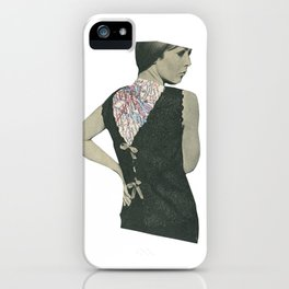 No Walk Over iPhone Case