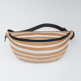 Copper Foil Stripes Fanny Pack