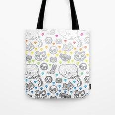 Hypno Animals Tote Bag