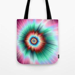 Tie Dye Comet Tote Bag
