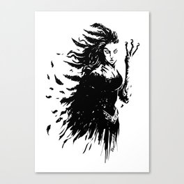 The Morrigan Canvas Print