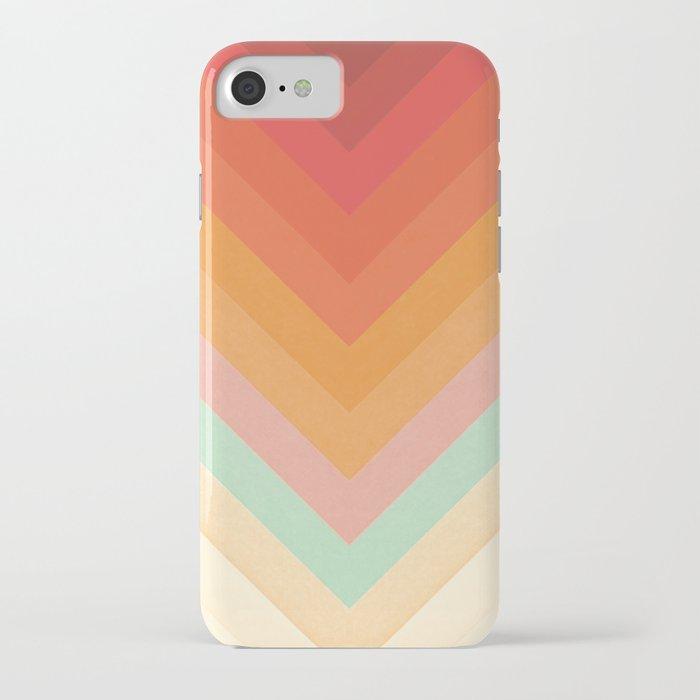 Rainbow Chevrons iPhone Case
