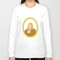 tenenbaum Long Sleeve T-shirts featuring Margot Tenenbaum by Whiteland