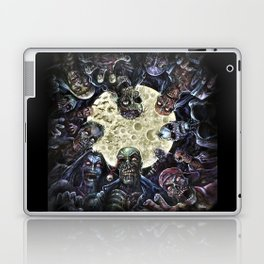 Zombies attack (zombie circle horde) Laptop & iPad Skin