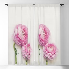 Pink Peonies 2 Blackout Curtain