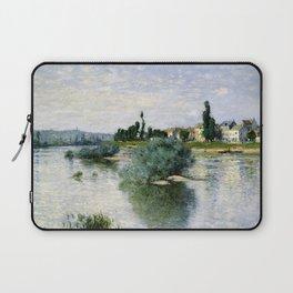 The Seine at Lavacourt Laptop Sleeve
