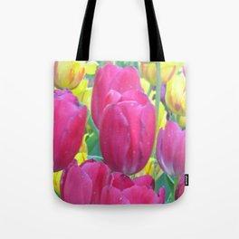 Sweet Spring Tulips Tote Bag