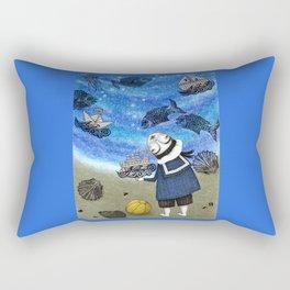 Day on the Beach Rectangular Pillow