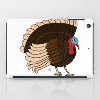 thanksgiving iPad Cases featuring Thanksgiving Turkey by Yatasi