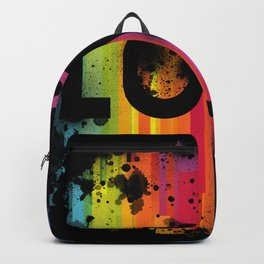 For Love - Black Background Backpack